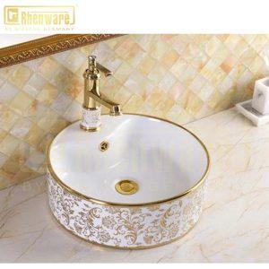 Chậu lavabo tròn lvb-162012